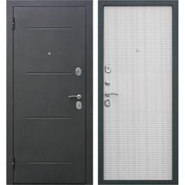 Дверная металлическая Гарда 7.5 муар 960 мм левая, цвет дуб сонома