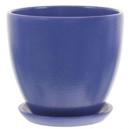 Горшок «Колор гейм» синий d15 см 1.5 л