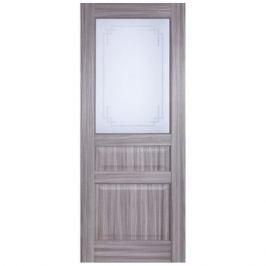 Дверь межкомнатная остеклённая Artens Мария 60x200 см цвет натуральный дуб