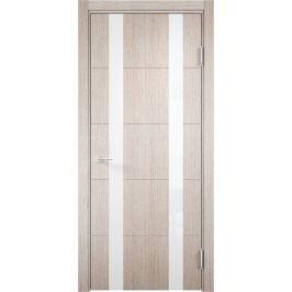 Дверь межкомнатная остеклённая Artens Нолан 70x200 см, цвет дуб бьянко