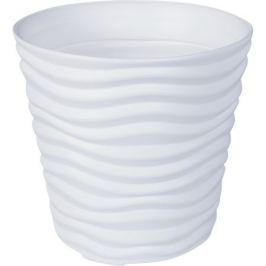 Кашпо «Дюна», 8.5 л, 24 см, цвет белый