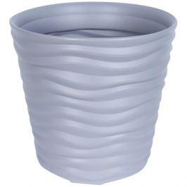 Кашпо «Дюна», 8.5 л, 24 см, цвет серый