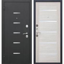 Дверь входная металлическая «Гарда Муар», 860 мм, левая, цвет лиственница бежевая