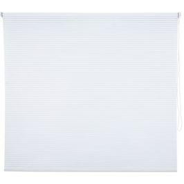 Штора рулонная «Полосы», 140х175 см, цвет белый