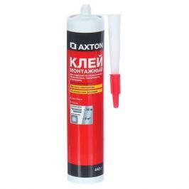 Клей монтажный Axton особопрочный, 0.44 кг, в картридже