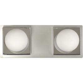 Светильник настенный Escada шар/база 2хG9 IP44 цвет хром