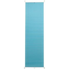 Штора плиссе «Плайн», 50х160 см, текстиль, цвет бирюзовый
