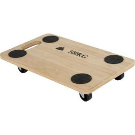 Тележка деревянная, 57.5x29x11 см, 100 кг