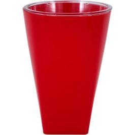 Кашпо «Грейс», 12.5 см, цвет красный