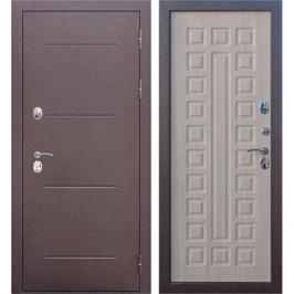 Дверь входная металлическая Isotema 11 см, 960 мм, правая, цвет антик лиственница мокко