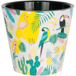 Горшок для цветов Фиджи Фламинго 23 см 5 л