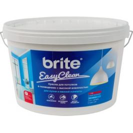 Краска для потолков Brite Easyclean цвет белый 5 л