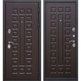 Дверь входная металлическая Сенатор 12 см, 960 мм, правая, цвет венге