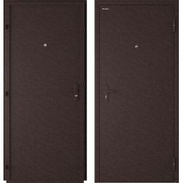 Дверь входная металлическая Лидер, 860 мм, правая, цвет античная медь