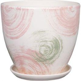 Горшок с поддоном «Помпадур» №4 2.6 л 180 мм, керамика