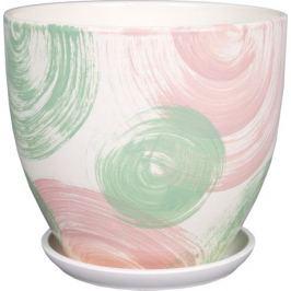 Горшок с поддоном «Помпадур» №5 4.8 л 220 мм, керамика