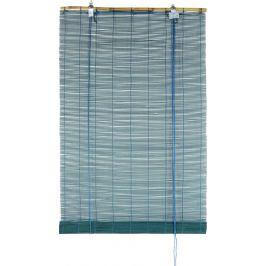 Штора рулонная «Бамбук» 80Х175 см, цвет бирюзовый