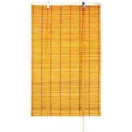 Штора рулонная «Бамбук» 120х175 см, цвет бежевый/экрю