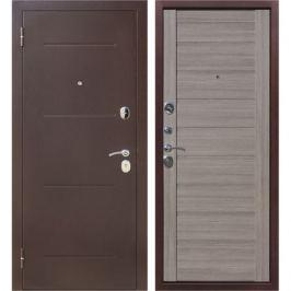 Дверь входная металлическая Ницца, 960 мм, левая, цвет грей царга