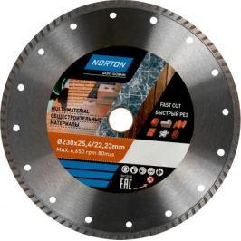 Диск алмазный универсальный Norton, 230х22.2 мм