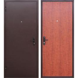 Дверь входная металлическая Стройгост 5, 960 мм, левая, цвет рустикальный дуб