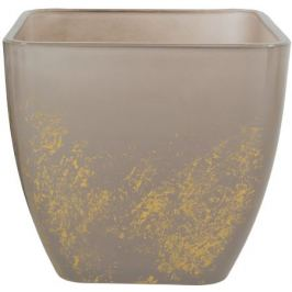 Кашпо «Бетти», 1.6 л, 15 см, стекло, цвет прозрачный бежевый