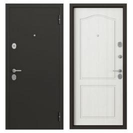 Дверь металлическая Гарант, 860 мм, левая, цвет антик ларче