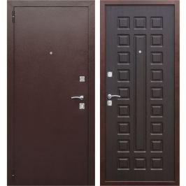 Дверь входная металлическая Йошкар, 960 мм, левая, цвет венге
