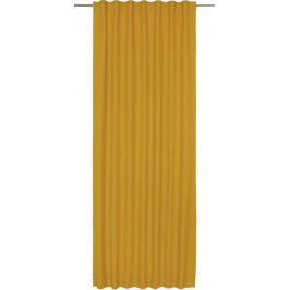 Штора на ленте Lidia Solemio, 140х280 см, однотонный, цвет жёлтый