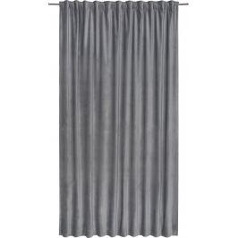Штора на ленте Tony Granit, 200х280 см, однотонный, цвет серый