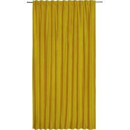 Штора на ленте Tony Lime, 200х280 см, однотонный, цвет жёлтый