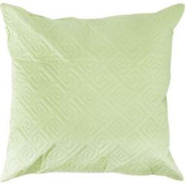 Подушка стёганая, 50х50 см, цвет салатовый