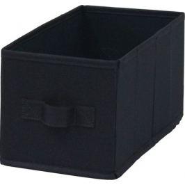Короб Spaceo Paris, 15х31х15 см, 6.9 л, полиэстер, цвет чёрный