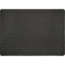 Коврик «Stanford», 133x190 см, полипропилен, цвет свинцовый/светло-серый