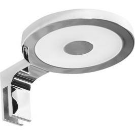 Подсветка зеркала светодиодная круглая, 4.5 Вт, IP44, тёплый белый свет