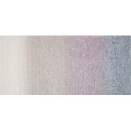 Коврик «Сабрина» 257, 160х75 см, латекс/шенилл, цвет серебристый/розовый