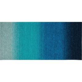 Коврик «Сабрина» 256, 160х75 см, латекс/шенилл, цвет синий