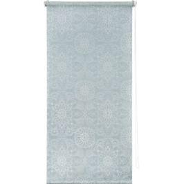 Штора рулонная «Мандала» 100х160 см, цвет голубой