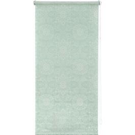 Штора рулонная «Мандала» 50х160 см, цвет бирюзовый