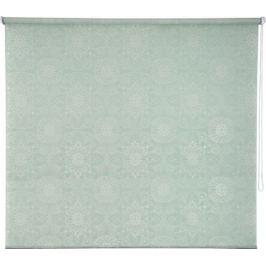 Штора рулонная «Мандала» 160х175 см, цвет бирюзовый