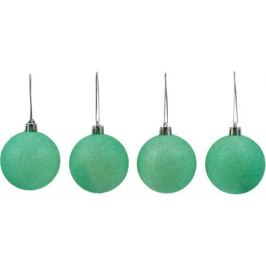 Набор ёлочных шаров «Парча», пластик 60/18 шт.