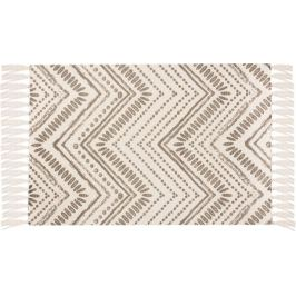 Коврик D4, 60x90 см, хлопок, цвет серый