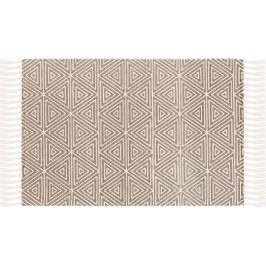 Коврик D3, 60x90 см, хлопок, цвет серый