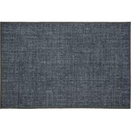 Коврик «Адриана», 80x120 см, нейлон, цвет синий