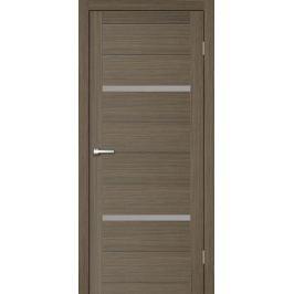 Дверь межкомнатная остеклённая Бэлла 70x200 см, ламинация, цвет мокко, с фурнитурой