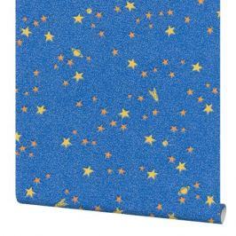Обои виниловые Палитра Stars синие 0.53 м 1078-63