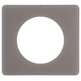 Рамка для розеток и выключателей Legrand Celiane 1 пост цвет перкаль грэй