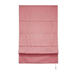 Штора римская «Натур», 120х175, цвет розовый