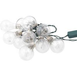Электрогирлянда светодиодная «Фестоны» для дома 10 ламп 1.8 м, цвет тёплый белый