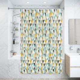 Штора для ванны Triangular 180x200 см, полиэстер